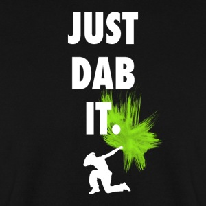 just dab it dabbing touchdown fun cool fun hum LOL - Männer Pullover