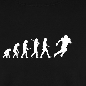 Evolution Voetbal! American Football! grappig! - Mannen sweater