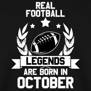 Real Football Legend Legend! Birthday! verjaardag - Mannen sweater