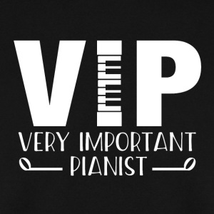 VIP - pianist t-shirt - Men's Sweatshirt
