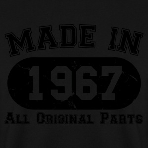 Made In 1967 All Original Parts 50th Birthday - Men's Sweatshirt