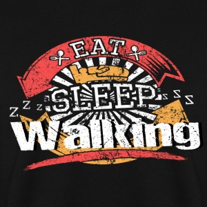 Eat Sleep Run - Felpa da uomo