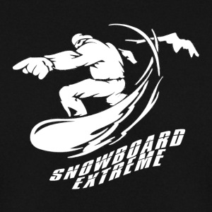 Snowboard EXTREME - Boarder Power! - Genser for menn