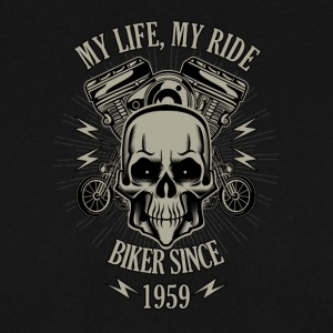 Gift for Biker - Year 1959 - Men's Sweatshirt