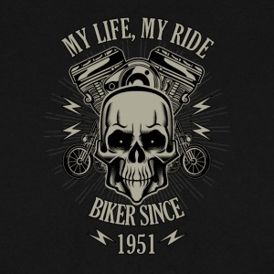 Gift for Biker - Year 1951 - Men's Sweatshirt