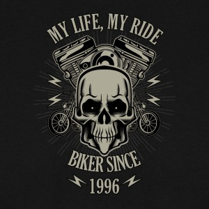 Gift for Biker - Year 1996 - Men's Sweatshirt