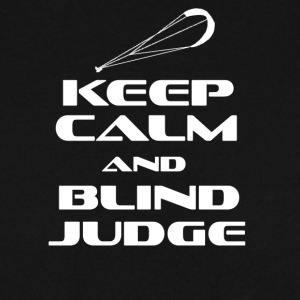 KITESURFING - KEEP CALM AND BLIND JUDGE - Männer Pullover