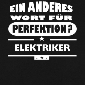 Electrician Other word for perfection - Men's Sweatshirt