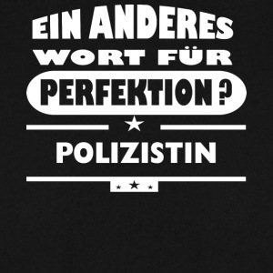 Policewoman Other word for perfection - Men's Sweatshirt