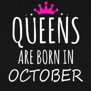 Queens are born in October - Men's Sweatshirt