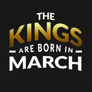 The Kings are born in MARCH - Men's Sweatshirt