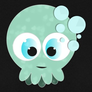 Baby Blue Squid - Felpa da uomo