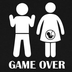 GAME OVER gravid - Herrtröja