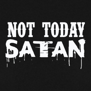 GIRLS NOT TODAY,,,,SATAN - Männer Pullover