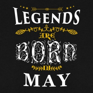 Birthday May legends born gift birth - Men's Sweatshirt