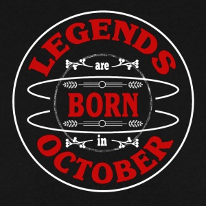 Birthday October legends born gift birth - Men's Sweatshirt