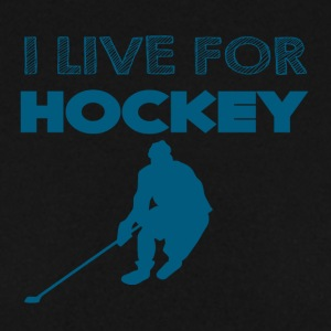 Hockey: Jeg lever for hockey - Herre sweater