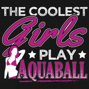 COOLEST GIRLS PLAY AQUABALL - Männer Pullover