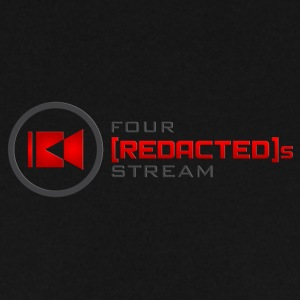 Four [REDACTED]s Stream Logo - Men's Sweatshirt