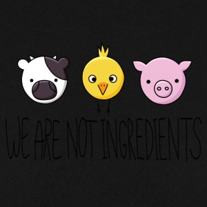 Vegan - We are not ingredients - Sweat-shirt Homme