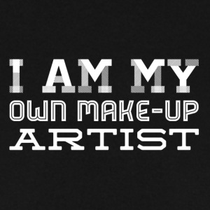 Iam my own makeup artist - white - Men's Sweatshirt