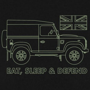 Eat, Sleep & Defend - Felpa da uomo