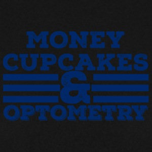 Optiker: Money, Cupcakes and Optometry - Männer Pullover
