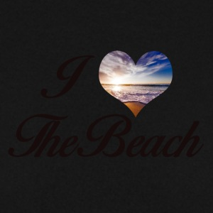 I LOVE THE BEACH - Männer Pullover