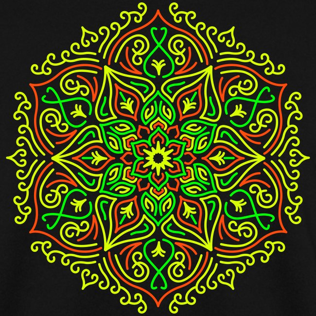 Fire Lotus Mandala