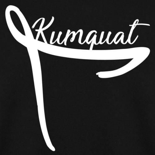 Kumquat Ribbon (White) - Men's Sweatshirt