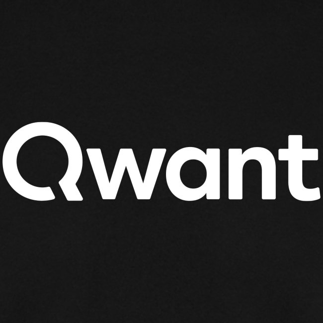 LOGO QWANT BLANC