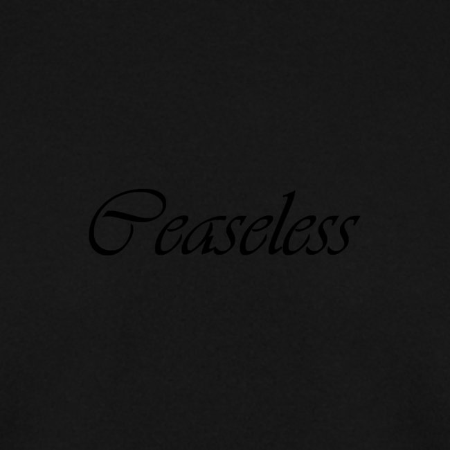 Finishing Ceaseless