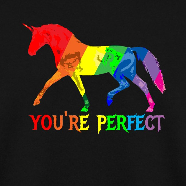 Regenbogen Einhorn - You´re perfect