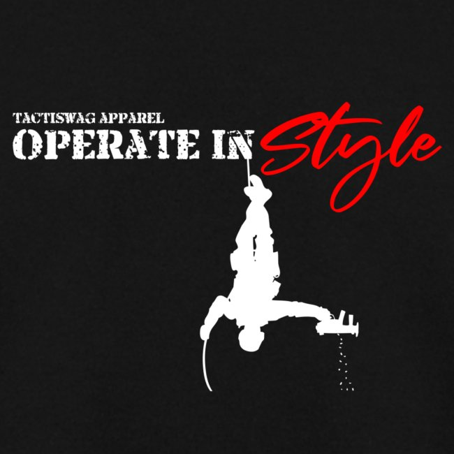 Hang in there & operate in style