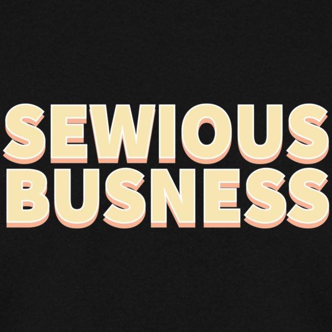 Sewious Busness Rød og Gul Logo
