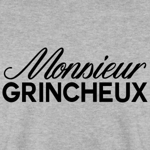 monsieur grincheux - Sweat-shirt Homme