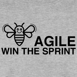 BE AGILE WIN THE SPRINT - Männer Pullover