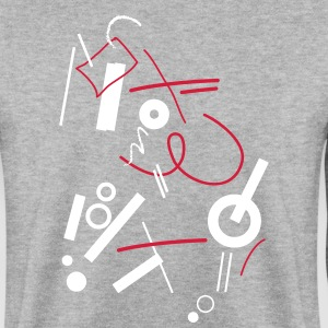 Abstract composition - Men's Sweatshirt