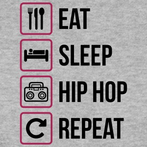 Eat Sleep Hip Hop Gjenta - Genser for menn