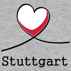 J'adore Stuttgart! - Sweat-shirt Homme