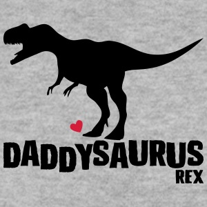Father's Day Gift Idea daddysaurus - fathers day - Men's Sweatshirt