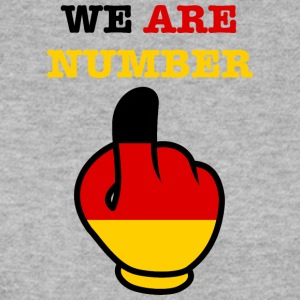 Germany Deutschland WE ARE NUMBER 1 - Männer Pullover