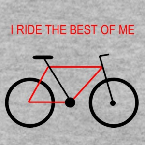 Bicycle_the_best_of_me_v2 - Men's Sweatshirt