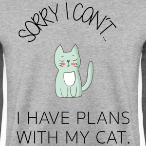 * Sorry I can not * - Cute Cat BESTSELLER - Men's Sweatshirt