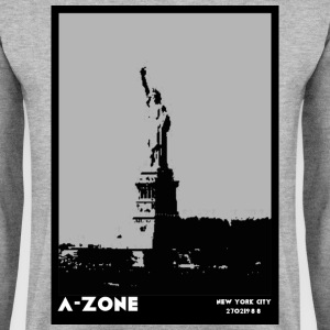 AZONE liberty poster - Men's Sweatshirt