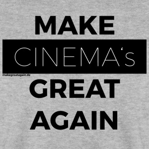 MAKE CINEMAS GREAT IGEN sort - Herre sweater