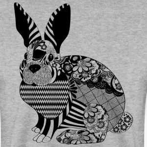 Lapin Floral - Sweat-shirt Homme