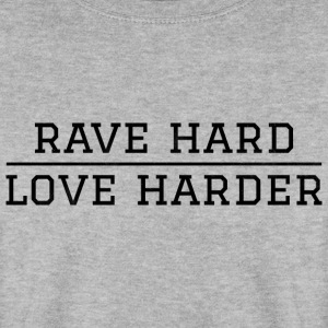 rave harde - harder liefde Festival - Mannen sweater