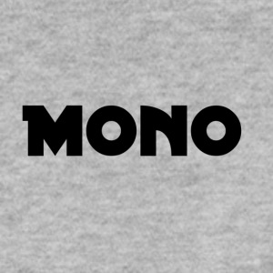 Mono in black - Men's Sweatshirt