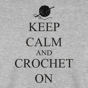 Keep Calm Crochet on - Mannen sweater